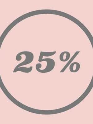 Udsalg 25%
