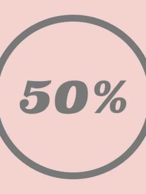 Udsalg 50%