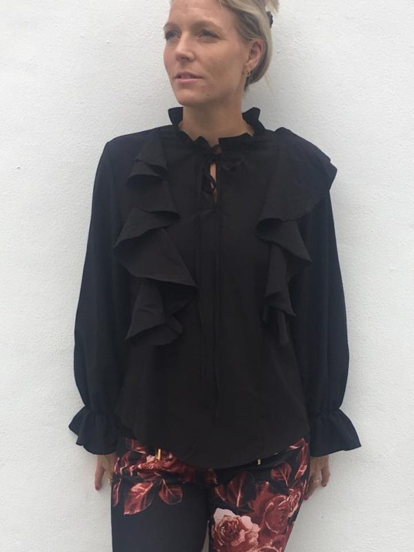 Love Skjortebluse Noir