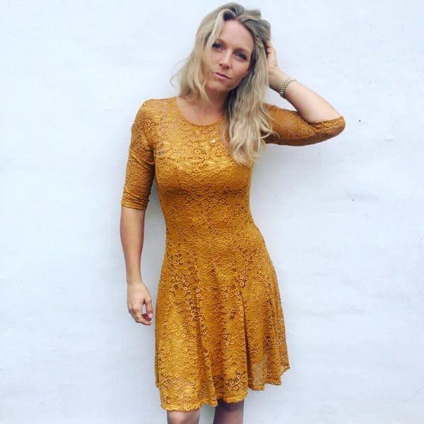Reve Blondekjole Mustard